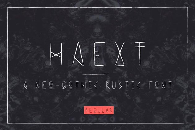 Haext Regular Font
