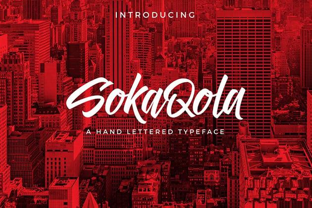 SokaQola Font