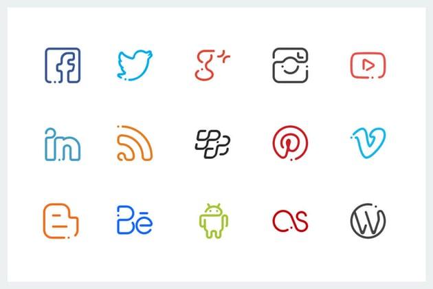 Significon Social Media Icons