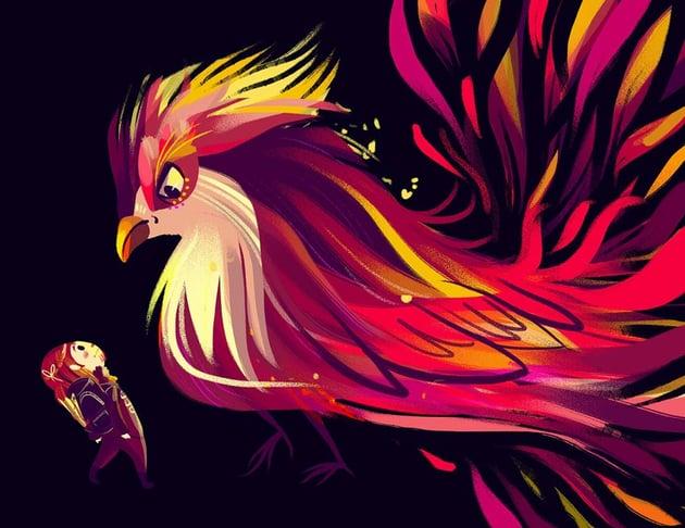 Fenix Art by Daniela Lobos