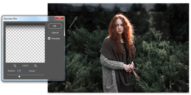 Blur the Background with Gaussian Blur