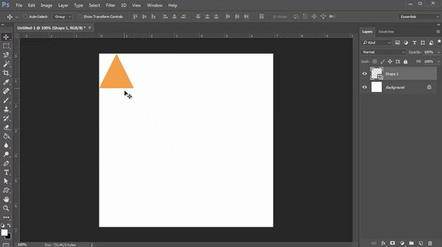 Create the First Triangle Shape