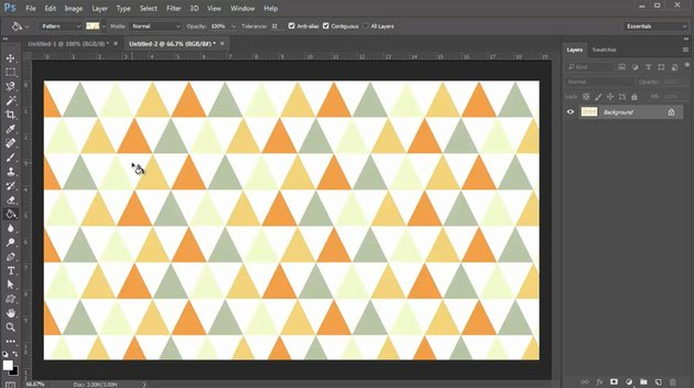 Test Out Your Pattern With the Paint Bucket Tool