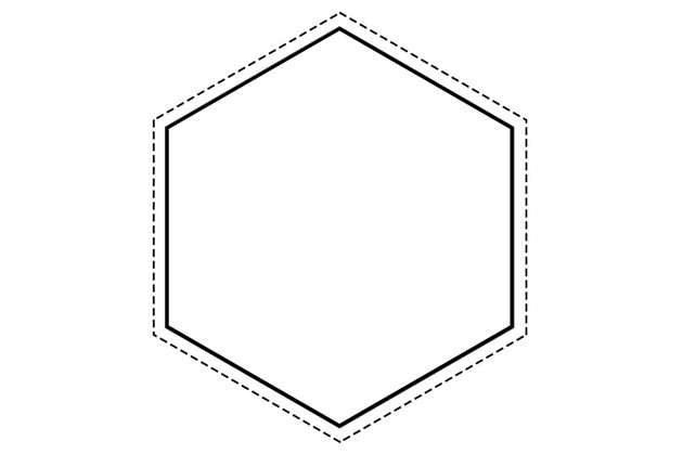 Create Another Hexagon Shape Within the First