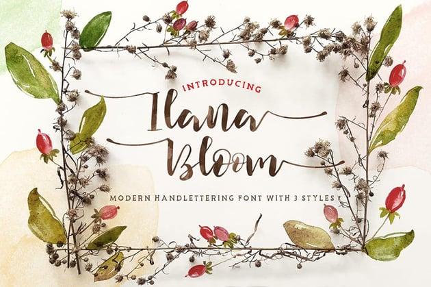 Ilana Bloom Font