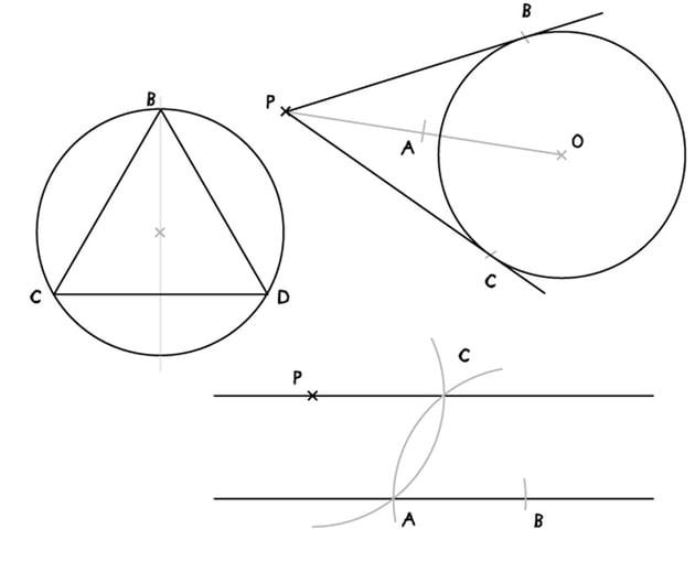 Geometric Design Mathematic Principles