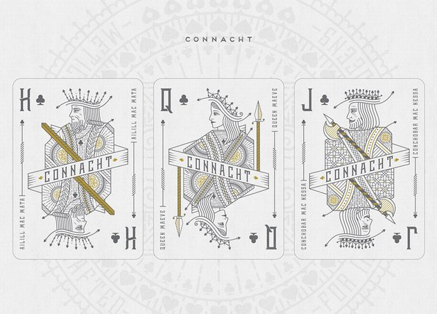 Handcrafted Playing Cards by Mark O Sullivan