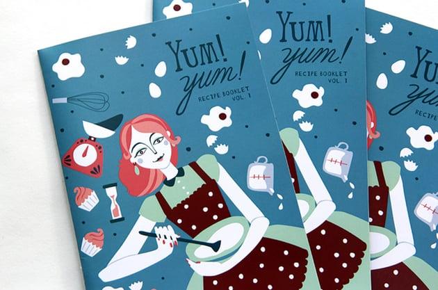 Yum Yum Recipe Booklet by Paula McGloin