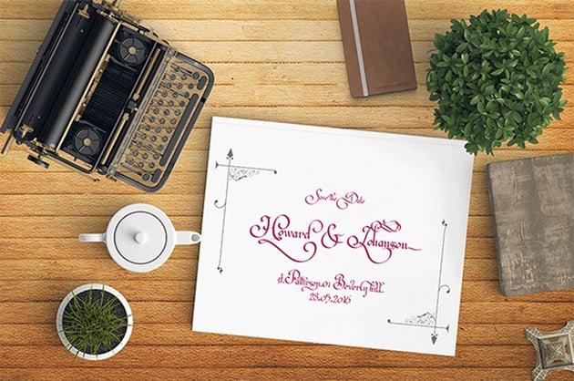 Nouvele Louisela Typeface