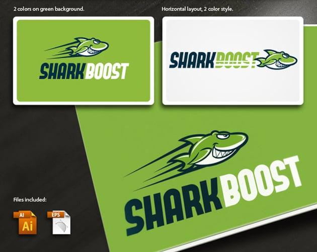 SharkBoost Logo