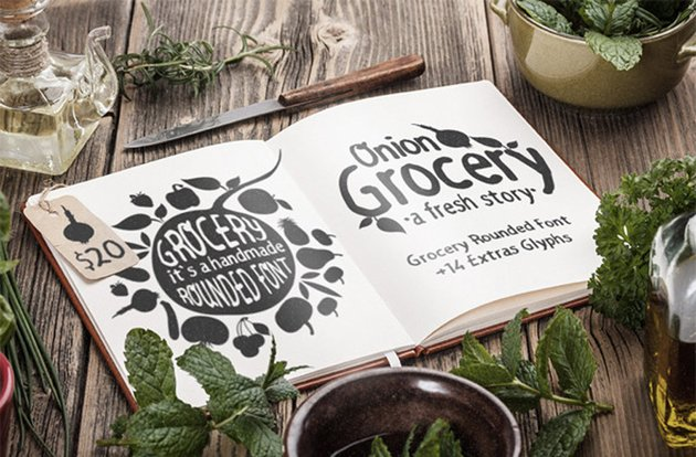 Grocery Rounded Font