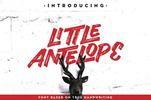 Little Antelope Font