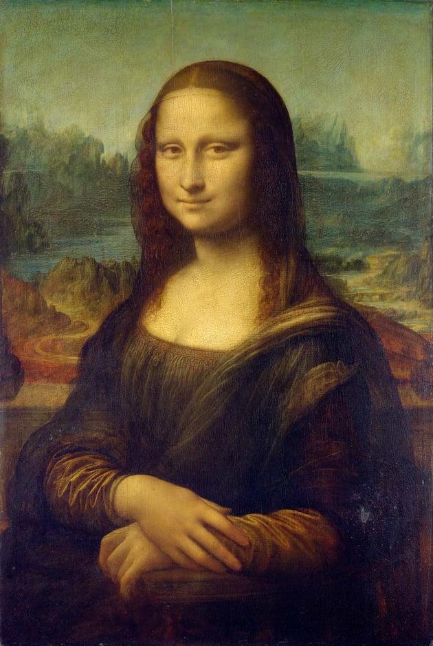 The Mona Lisa by Leonardo da Vinci
