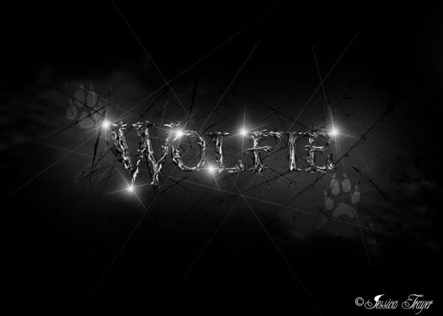 Black and White Text Effect Photoshop Tutorial