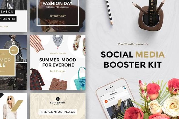 Social Media Booster Kit