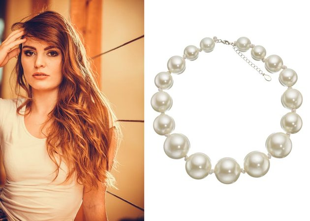 Pearls and Woman References