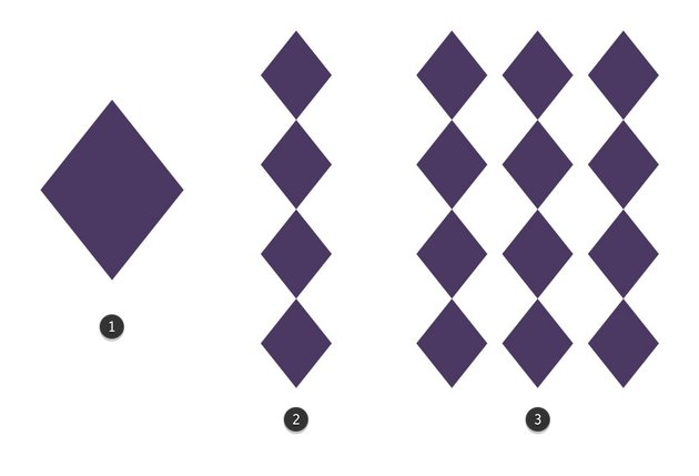 Create a Diamond Pattern