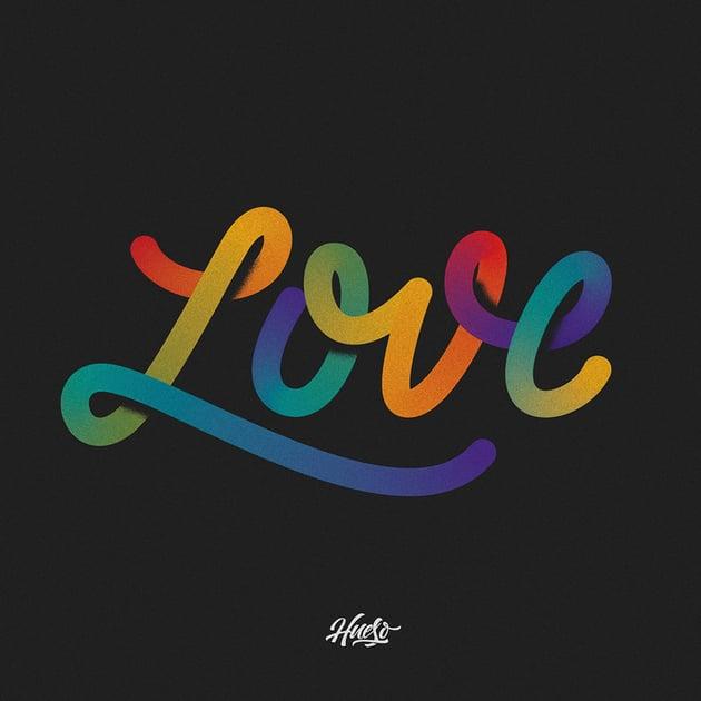Love - Lettering 2 by Rafa Miguel