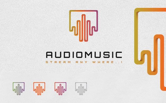 Audio Music Logo
