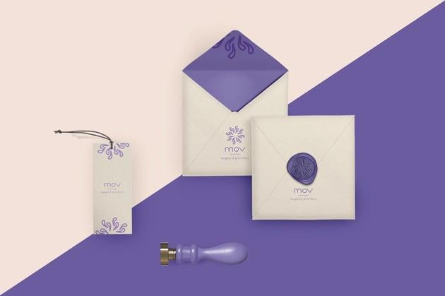 MOV Inspired Jewellery Branding by Shanti Thomaidi