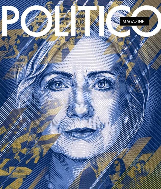 Hilary Clinton Cover for Politico Magazine