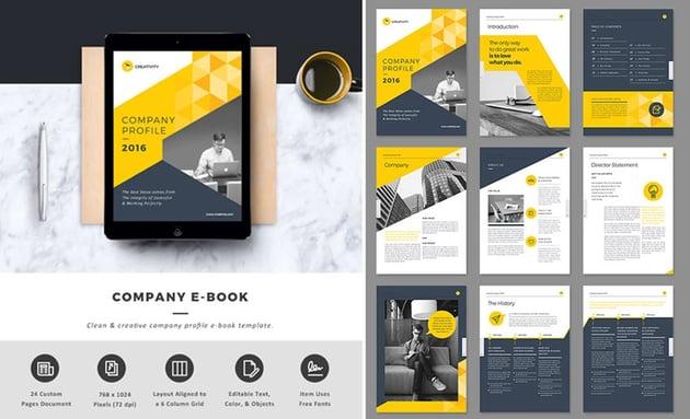 Company InDesign eBook Template