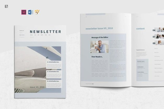 Simple Newsletter Template