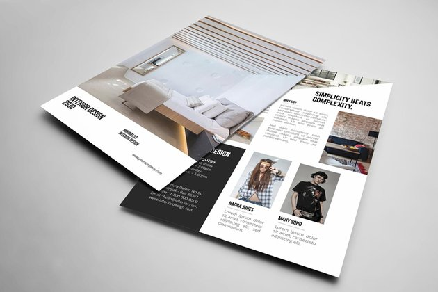 Interior Design Flyer