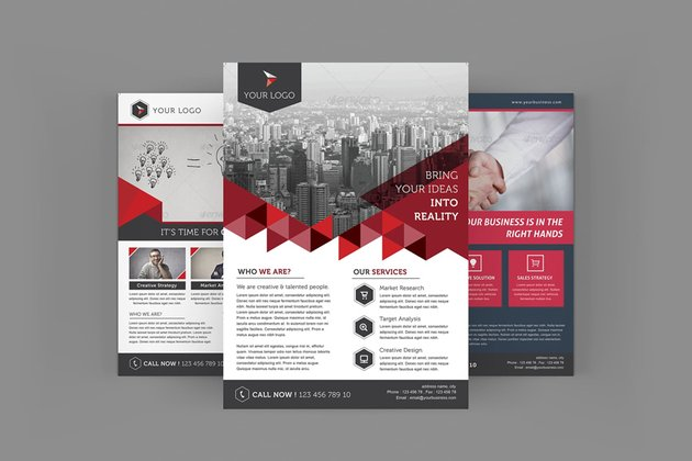 Real Estate Company Flyers