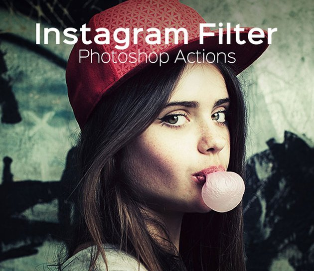 Instagram Filter - Photoshop Action