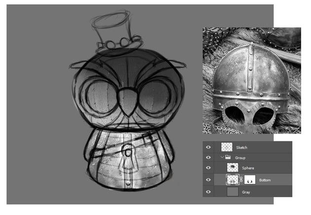 Create the Owl Body