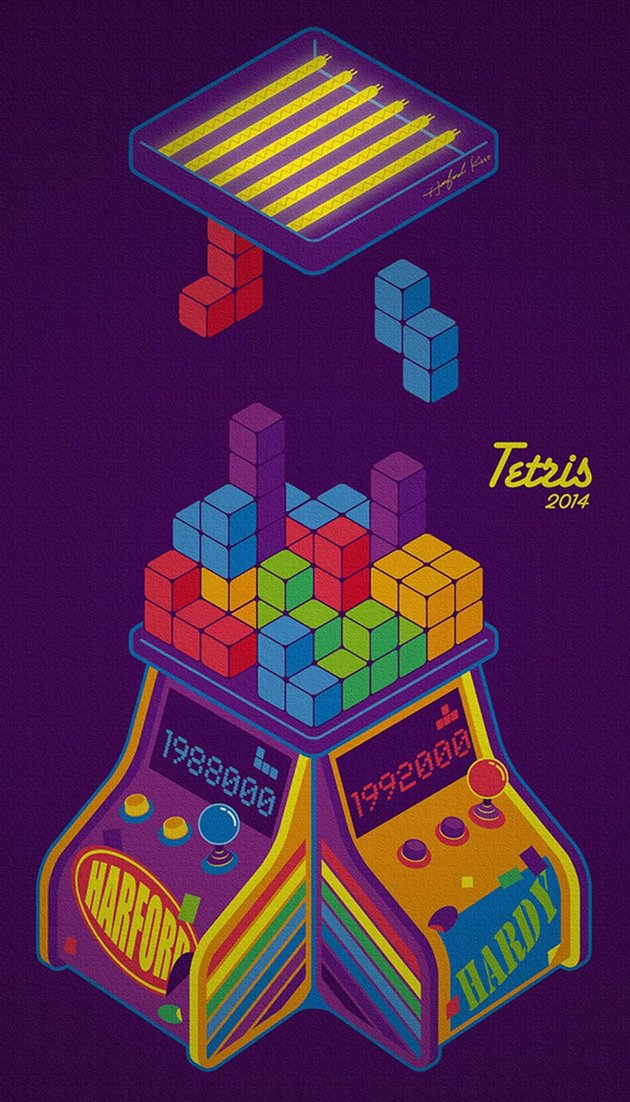 Tetris by Heng-Jui Kuo