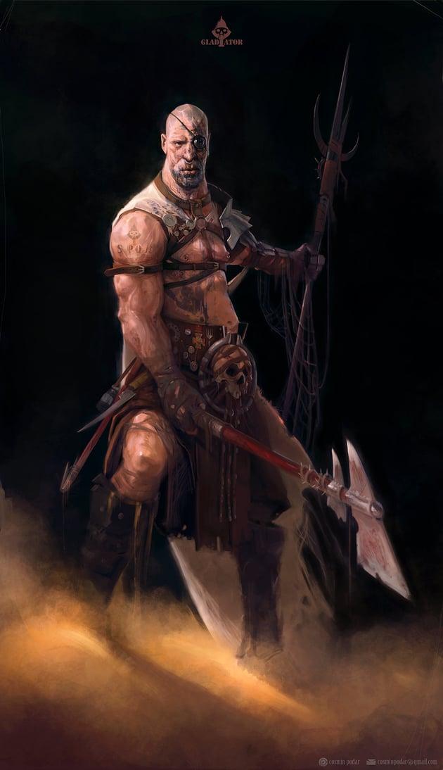 Gladiator by Cosmin Podar