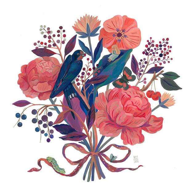 Thumbelina by Livia Coloji