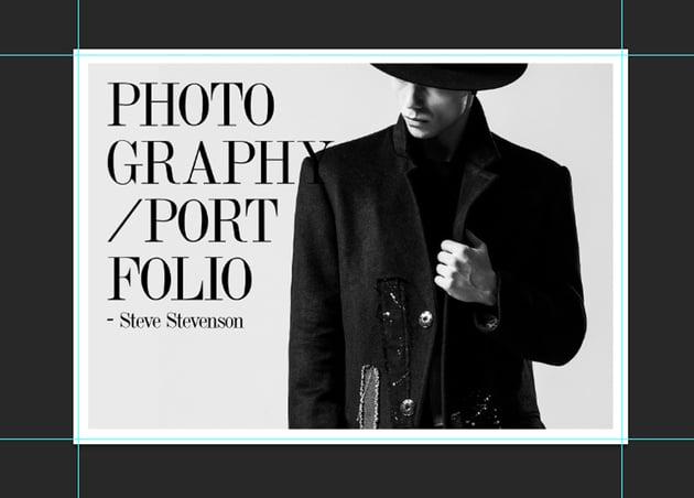 Creating the Portfolio Cover
