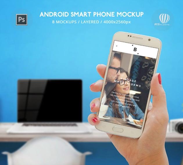 Android Smart Phone Mockup
