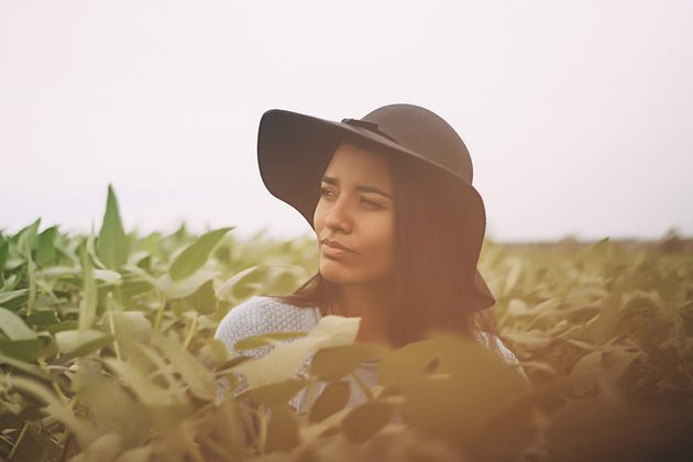 Woman Field Stock from Pixabay