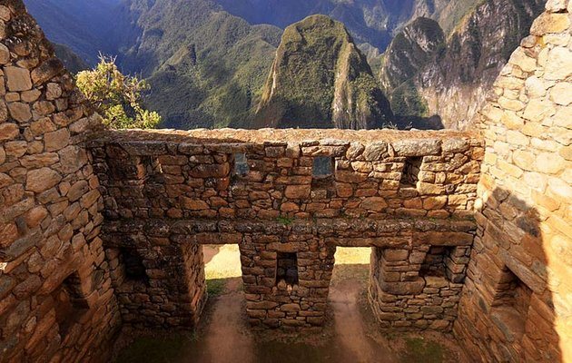 Machu Picchu Building