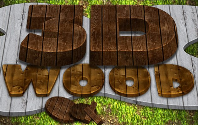3D Wood Generator - Actions