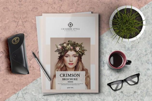 Crimson Brochure Template