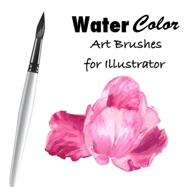 Watercolor Vector Art Brushes