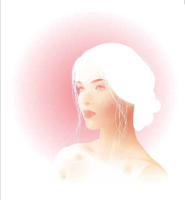 Summer Portrait From a Stock Image in Adobe Illustrator