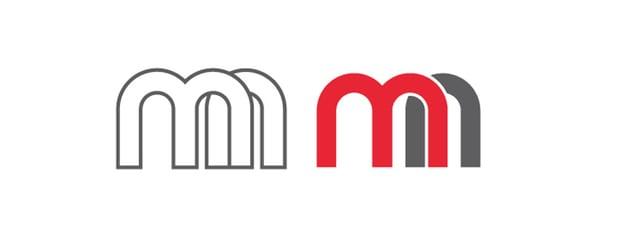 Modern Monogram Logo Kit Example