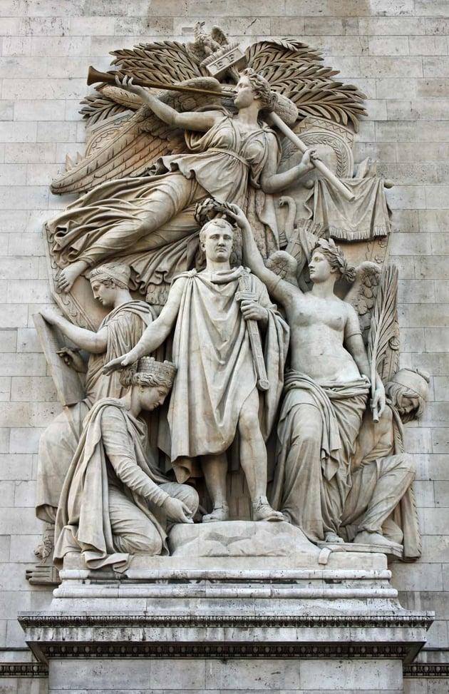Le Triomphe de 1810 by Jean-Pierre Cortot