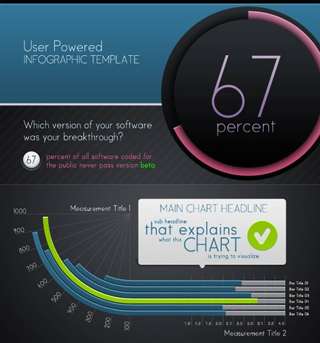 Infographic Templates and Charts V5