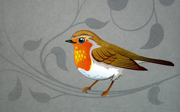 Forest Birds by Nadine Colin