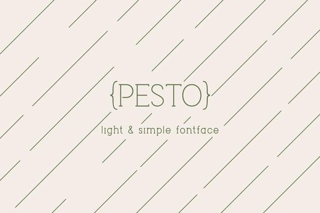 Pesto Font