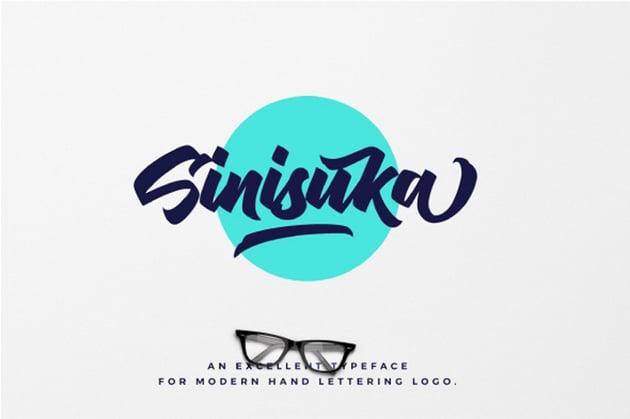 Sinisuka Font