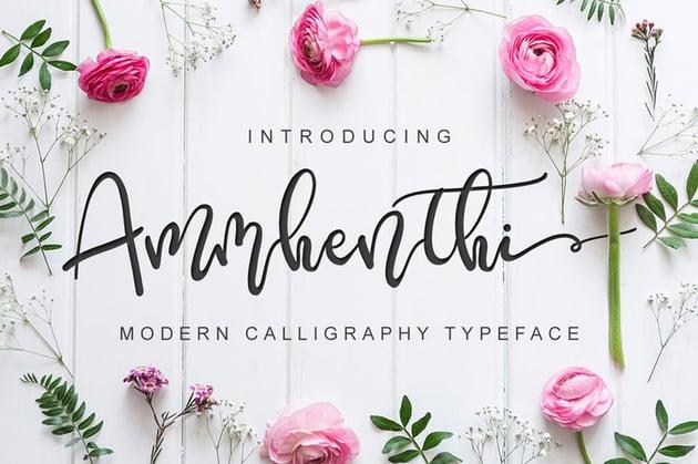 Ammhenthi Font