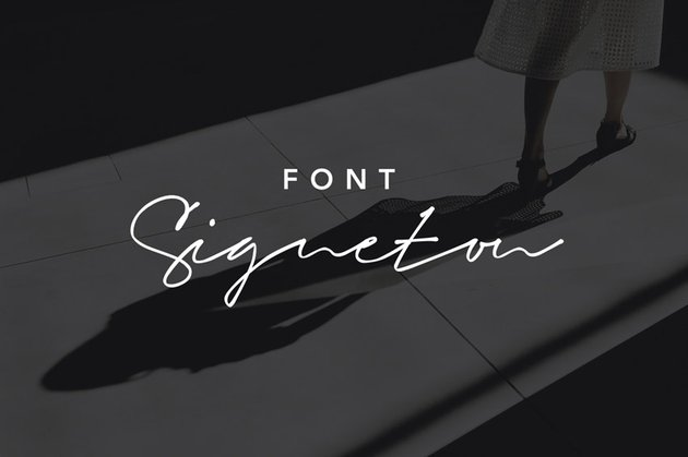 Signeton Font